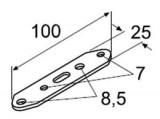 Metallplatte mit Löchern Webasto 10St