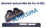 Schnorchel- und Profilset für U-GO