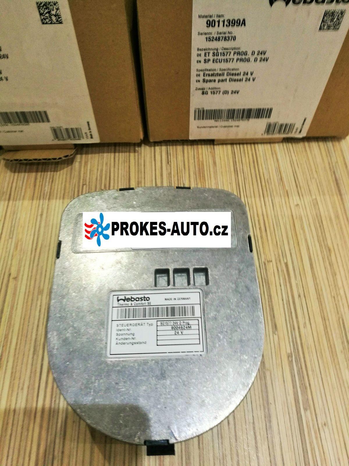 Webasto Steuergerat SG1577 Thermo 90ST Diesel 24V vorprogrammiert 9011399 / 9004624 / 9004624M / 9004624L / 1300724G / 1315638 B / 1301656 E / SG 1577