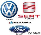 Aufrüstung der HYDRONIC D3WZ zur Standheizung im VW Sharan TDI und Ford Galaxy 1,9 TDI