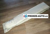 Isolierung Hitzeschutz 70mm x 1,2m auf Auspuffrohr 30-42mm