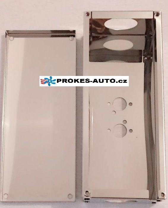 Schutzabdeckung für Luftheizung 4kW Edelstahl