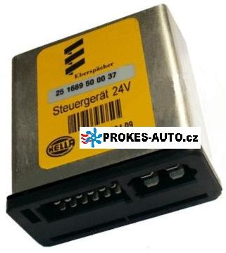 Eberspacher Steuergerät 24V D8LC 251689500037 Eberspächer