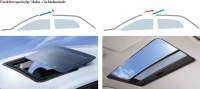 Hollandia 300 spoiler roof Deluxe Large Soft Touch Rollo Webasto