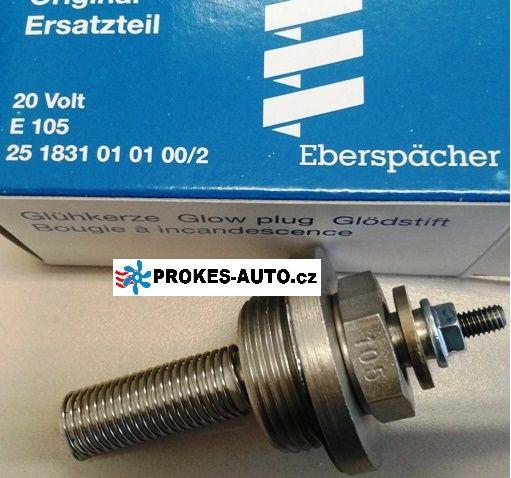 Glühkerze E105 D1LC / D3LC Compact / D5LC / D8LC / D5 24V 251831010100 Eberspächer