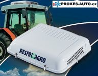 AGRO-Kühler in einer staubigen Umgebung
