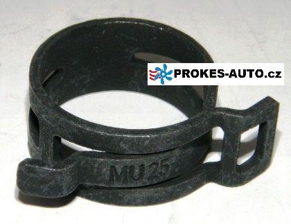 Federbandschelle raumsparend 25mm MU25 Webasto