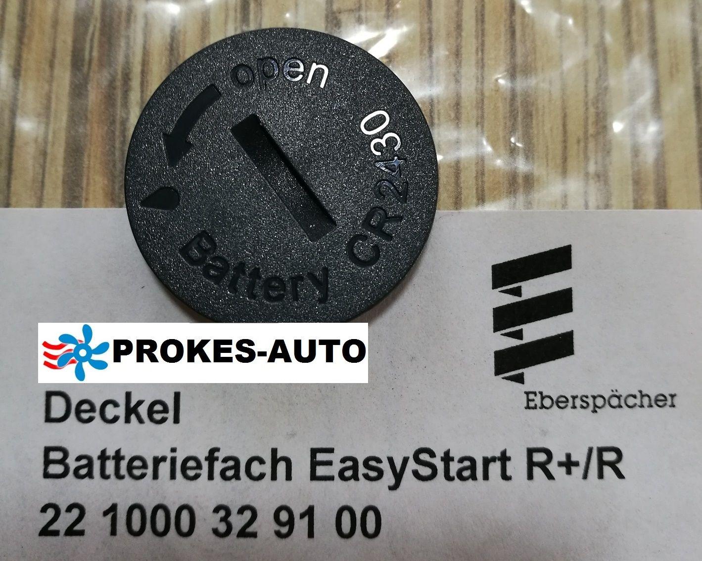 EasyStart R und R+ 221000329100 Fernbedienung Batterieabdeckung Eberspächer
