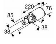 Eberspächer UMWAELZPUMPE U4814 24V Aquavent 5000 AMP 252488260100