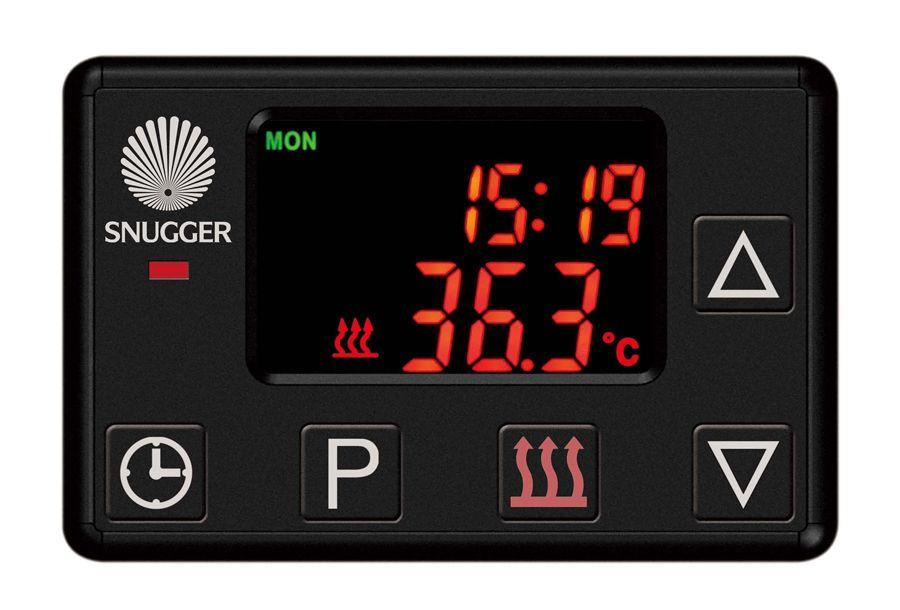 Digitale Bedienung - Vorwahl Uhr SNUGGER
