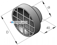 Luftansaugfilter Airtronic 60mm 251688890500 Eberspächer