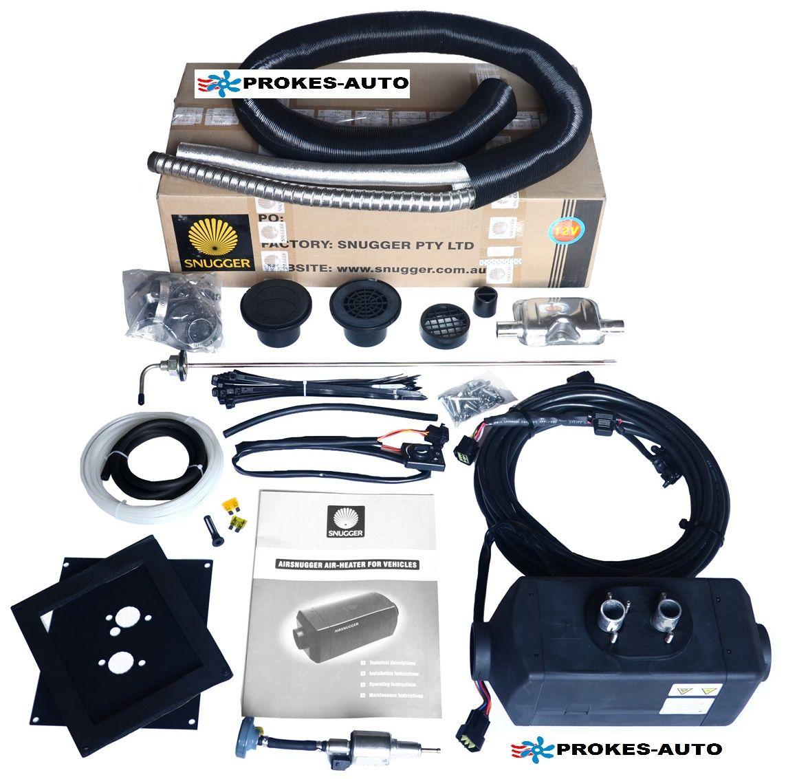 SNUGGER Luft Heizung Diesel 4,2kW PLUS 12V
