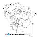 Binar 5S 5kW Wasser Heizung Diesel + PU-27 Autoterm