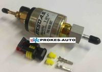 Kraftstoffpumpe 12V AKRI mit Stecker eingestellt