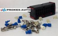 Steckhülsengehäuse mit Kontakten Airtronic D2 / D4