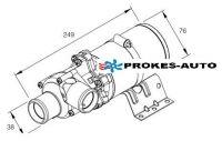 Wasserpumpe 24V Flowtronic 5000 mit Halter 252488260000 Eberspächer