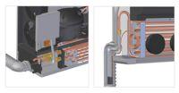Vitrifrigo RW3000 / 950W 24V Rückwand / klimaanlage für LKW