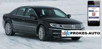 Webasto Umbausatz VW Phaeton CLIMATRONIC inclusiv Handy Bedienung
