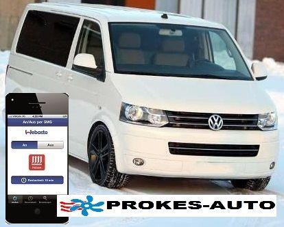 Webasto Umbausatz VW T5 ACC CLIMATRONIC inclusiv Handy Bedienung TC3