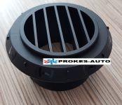 Ausströmer Heißluft von 90 ° prm.60mm schwarz Webasto