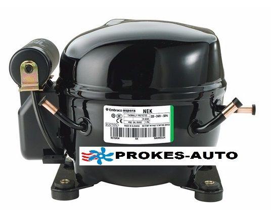 Kompressor Aspera NE6210GK - EMBRACO NEK6210GK, MBP-R404A 220-240V Aspera - Embraco