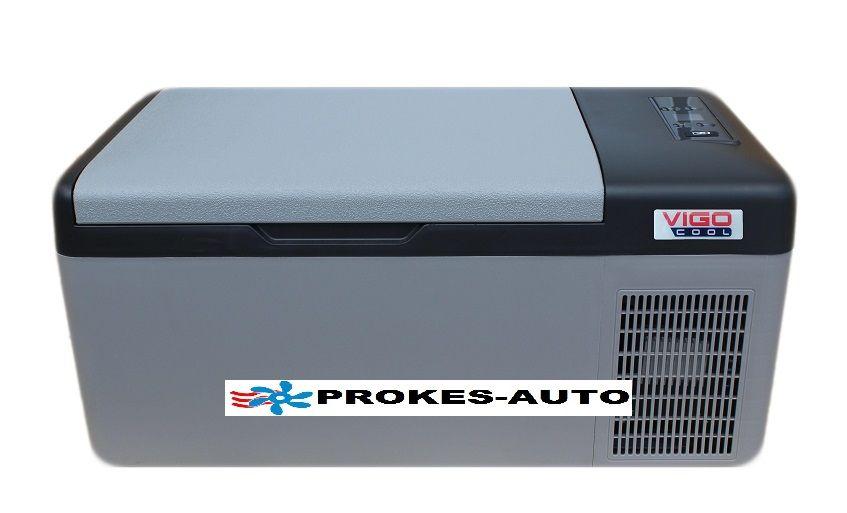 VIGOCOOL V15CF Tragbarer Kompressorkühlbox 15L -20°C 12/24/230V