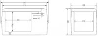 VIGOCOOL V22CF Tragbarer Kompressorkühlbox mit Eiswürfelbereiter 22L -20°C 12/24/230V