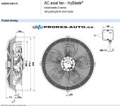 EBM PAPST Saugventilator 630 mm 400V 4-polig S4D630-AH01-01