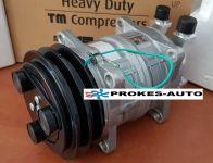 Klimakompressor ZEXEL TM15HD Riemenscheibe 125mm 2GA 12V