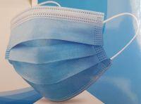 Einweg-Gesichtsmaske Blau 50er Pack