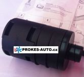 Saugschalldämpfer L 90mm für 25mm Schlauch