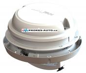 Dach- / Wandventilator MaxxAir Maxxfan Dome 12V, weiß, mit LED-Beleuchtung